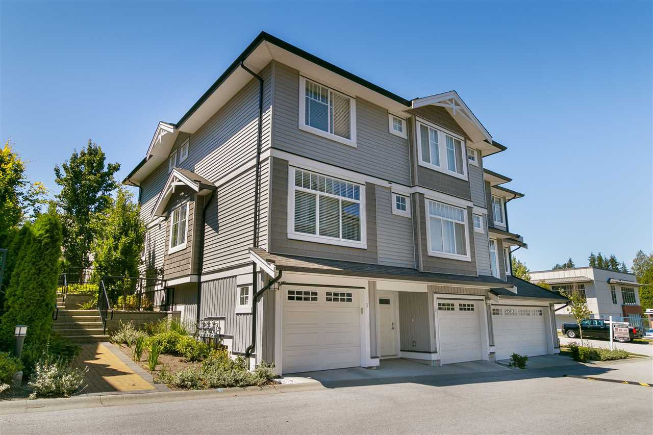 """Main Photo: 3 14356 63A Avenue in Surrey: Sullivan Station Townhouse for sale in """"Sullivan Station"""" : MLS®# R2314658"""