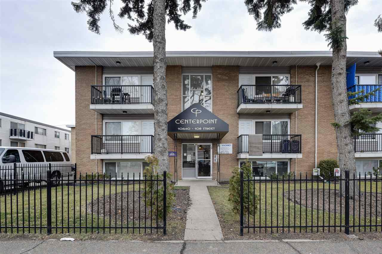 Main Photo: 31 10640 108 Street in Edmonton: Zone 08 Condo for sale : MLS®# E4161694