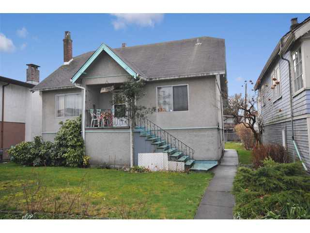 Main Photo: 630 E 19 Avenue in vancouver: Fraser VE House for sale (Vancouver East)  : MLS®# MLS# V935623