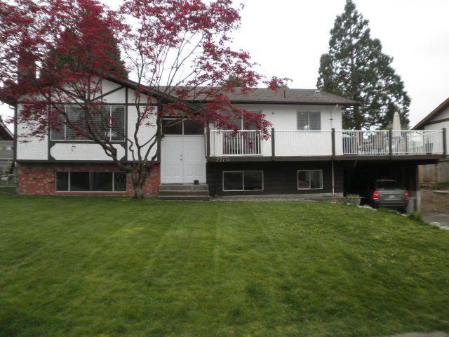 Main Photo: 22774 REID Avenue in Maple Ridge: East Central House for sale : MLS®# R2056310