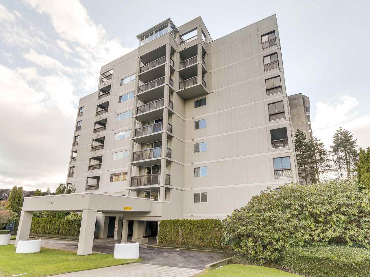 """Main Photo: 603 550 EIGHTH Street in New Westminster: Uptown NW Condo for sale in """"PARK RIDGE"""" : MLS®# R2142092"""