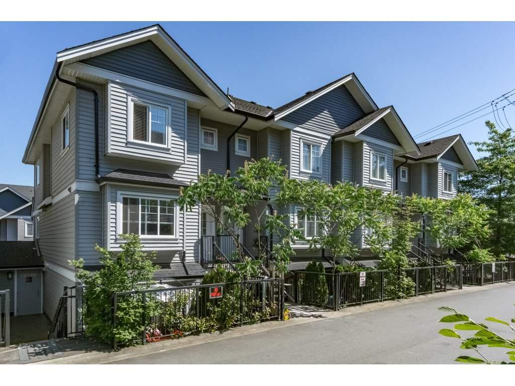 "Main Photo: 43 11255 132 Street in Surrey: Bridgeview Townhouse for sale in ""Fraser View Terrace"" (North Surrey)  : MLS®# R2186119"