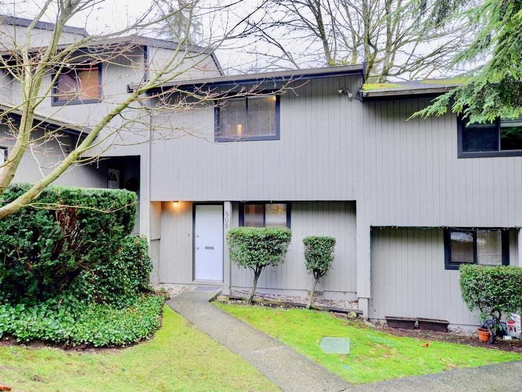 "Main Photo: 868 BLACKSTOCK Road in Port Moody: North Shore Pt Moody Townhouse for sale in ""WOODSIDE VILLAGE"" : MLS®# R2232669"