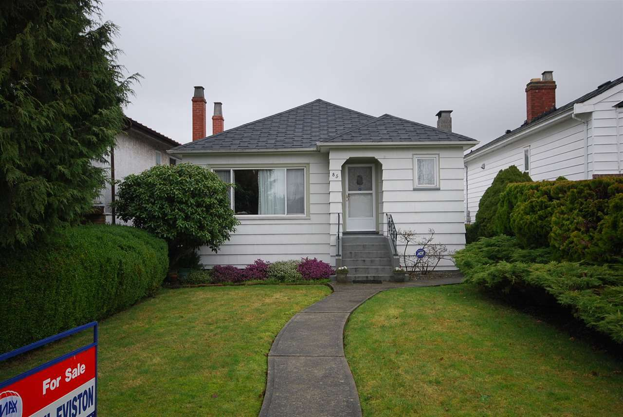 Main Photo: 85 W 26TH Avenue in Vancouver: Cambie House for sale (Vancouver West)  : MLS®# R2237521