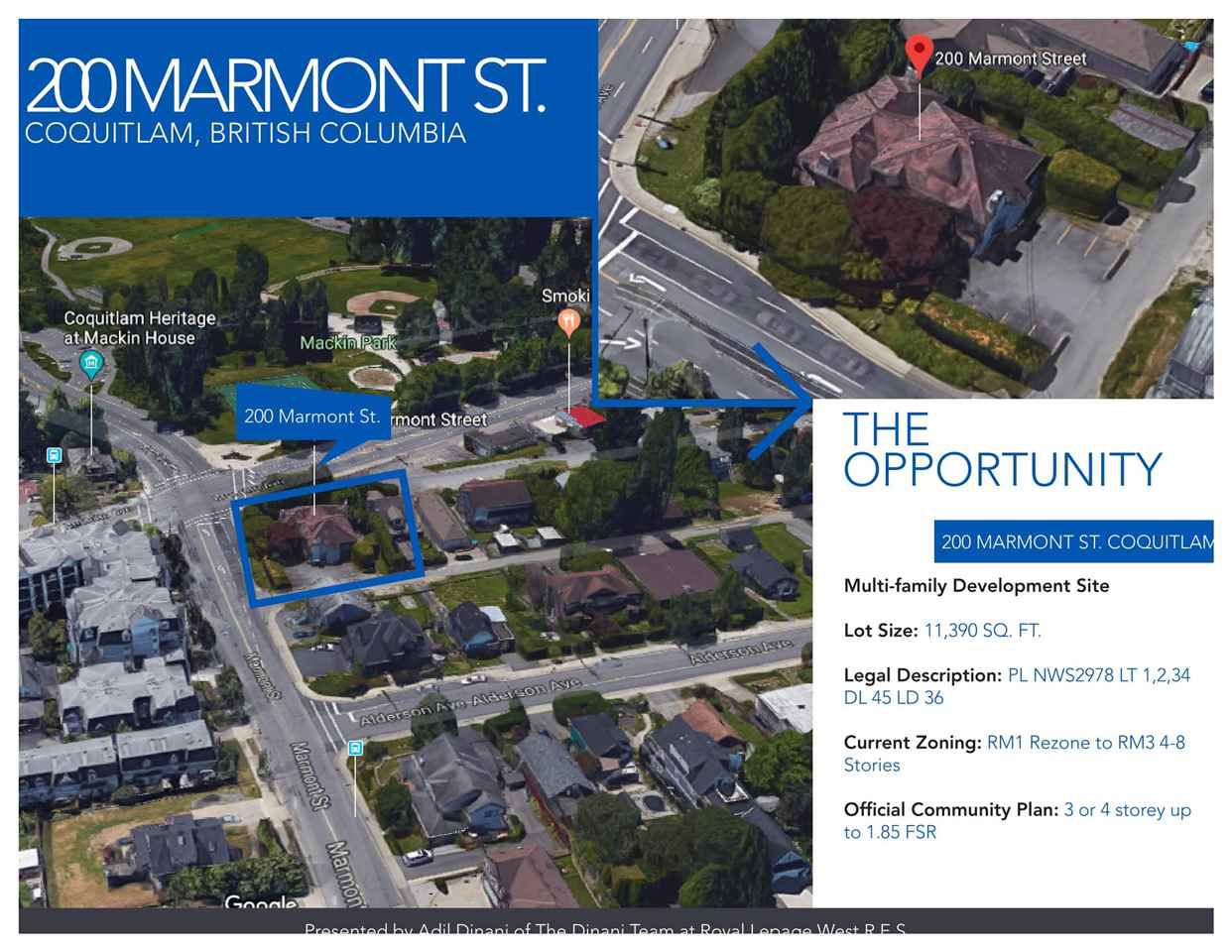Main Photo: 3 200 MARMONT Street in Coquitlam: Maillardville Home for sale : MLS®# R2240262