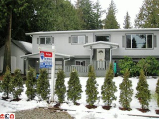 Main Photo: 19847 38A AVENUE in : Brookswood Langley House for sale (Langley)  : MLS®# F1201123