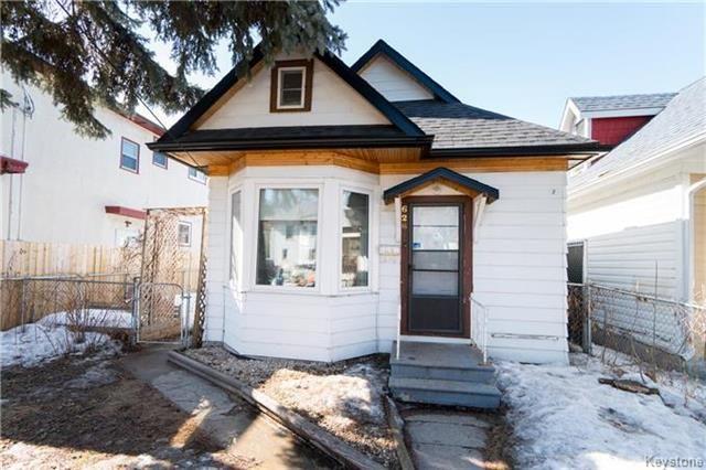 Main Photo: 626 Burnell Street in Winnipeg: Residential for sale (5C)  : MLS®# 1807107