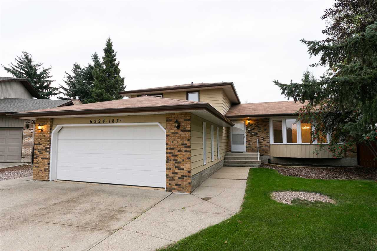 Main Photo: 6224 187 A Street NW in Edmonton: Zone 20 House for sale : MLS®# E4127305