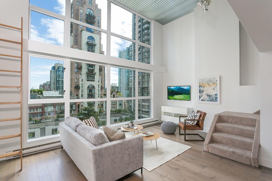 """Main Photo: 408 1238 SEYMOUR Street in Vancouver: Downtown VW Condo for sale in """"Space"""" (Vancouver West)  : MLS®# R2378878"""