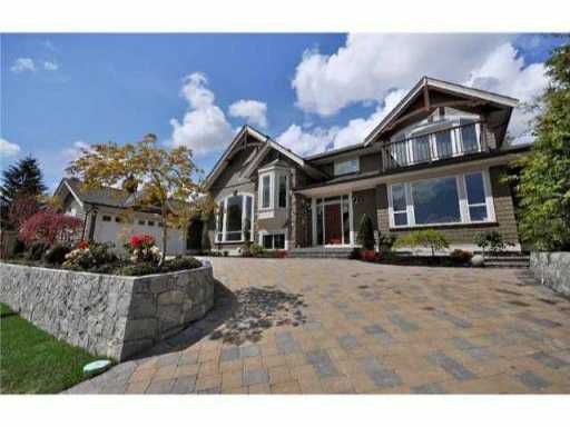 """Main Photo: 954 WENTWORTH Avenue in North Vancouver: Forest Hills NV House for sale in """"CAPILANO HIGHLANDS"""" : MLS®# V897595"""