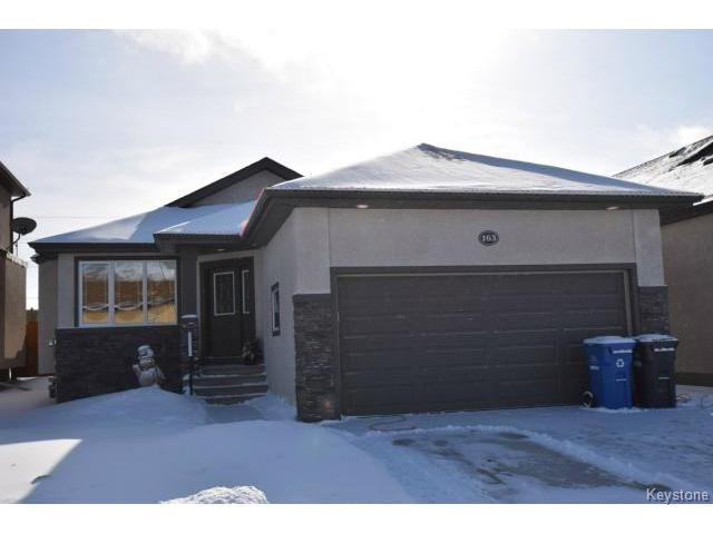 Main Photo: 163 Scammel Road in WINNIPEG: St Vital Residential for sale (South East Winnipeg)  : MLS®# 1503235