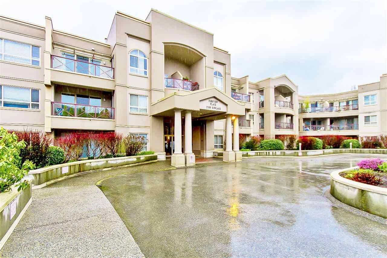 """Main Photo: 207 2109 ROWLAND Street in Port Coquitlam: Central Pt Coquitlam Condo for sale in """"PARKVIEW PLACE"""" : MLS®# R2150283"""