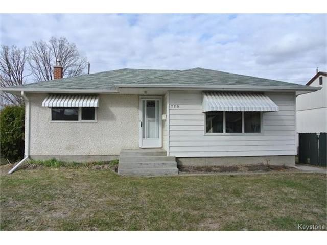Main Photo: 725 Fleming Avenue in Winnipeg: Residential for sale (3B)  : MLS®# 1709240