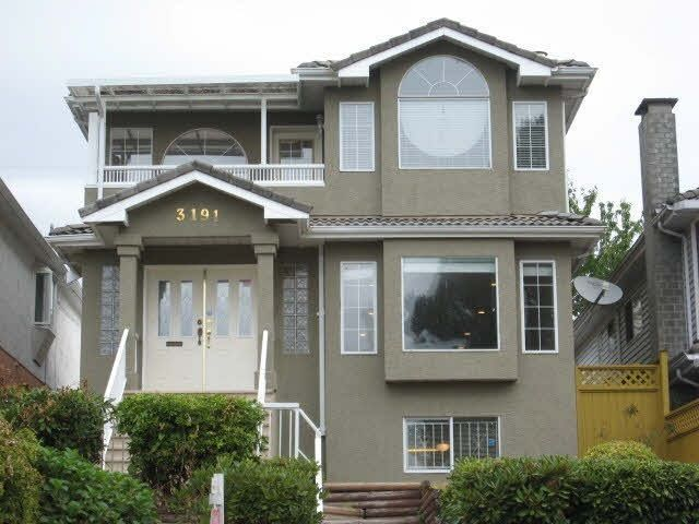 Main Photo: 3191 E 8TH Avenue in Vancouver: Renfrew VE House for sale (Vancouver East)  : MLS®# R2199869