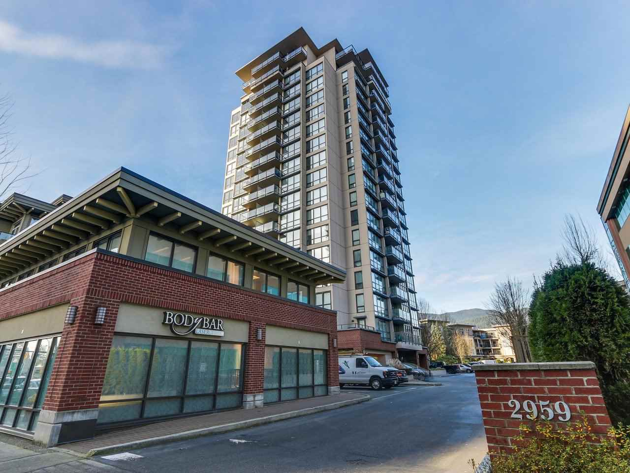 "Main Photo: 1006 2959 GLEN Drive in Coquitlam: North Coquitlam Condo for sale in ""THE PARC"" : MLS®# R2228187"