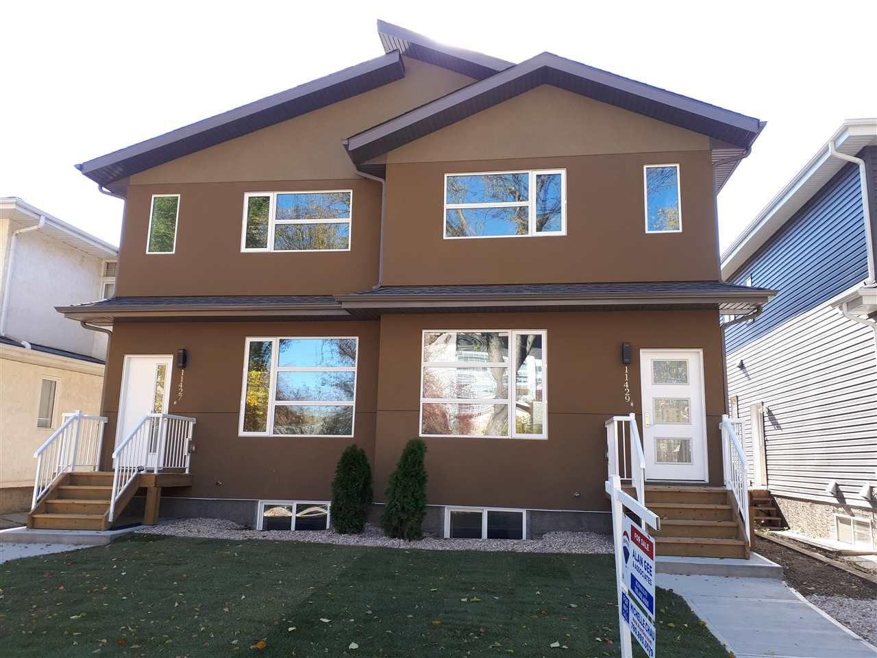 Main Photo: 11429 80 Avenue in Edmonton: Zone 15 House Half Duplex for sale : MLS®# E4116003