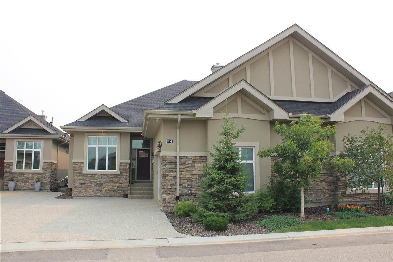 Main Photo: 4 7570 MAY Common in Edmonton: Zone 14 House Half Duplex for sale : MLS®# E4125604