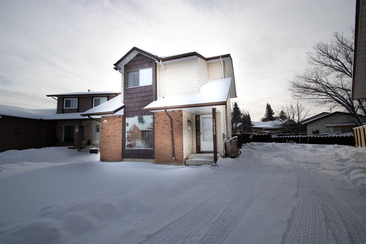 Main Photo: 10215 171A Avenue in Edmonton: Zone 27 Attached Home for sale : MLS®# E4142941