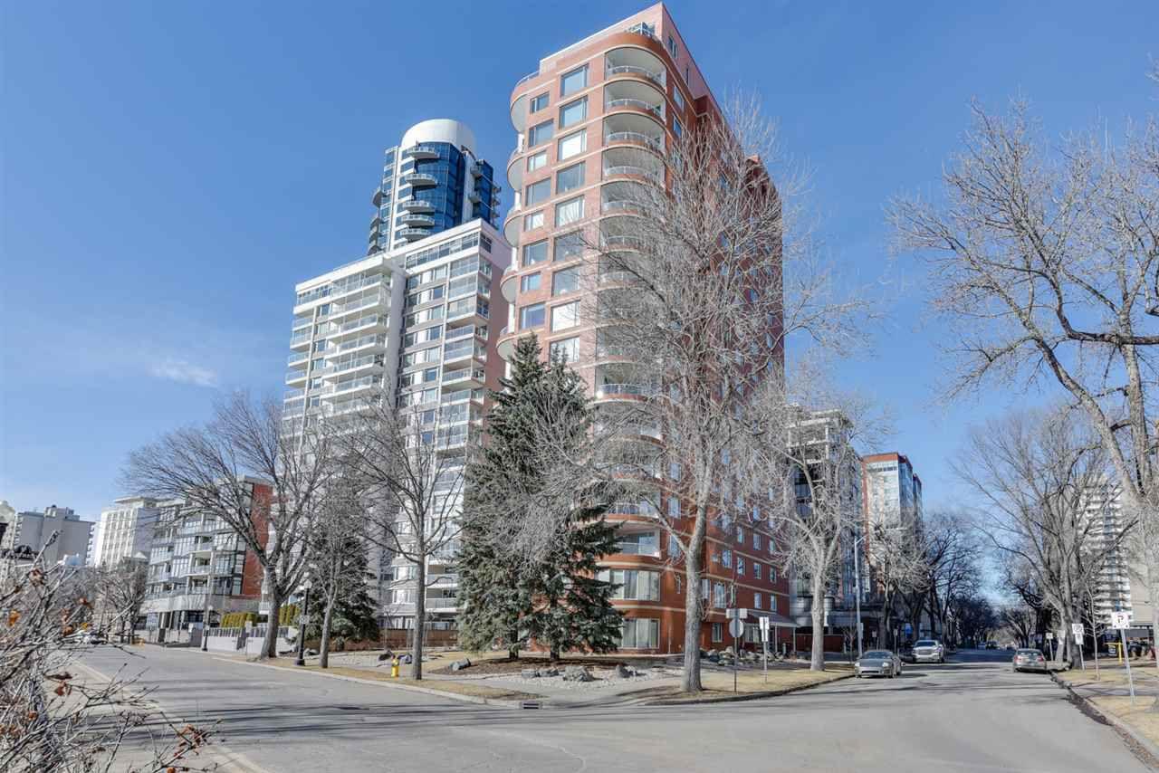 Main Photo: 801 10010 119 Street in Edmonton: Zone 12 Condo for sale : MLS®# E4143331