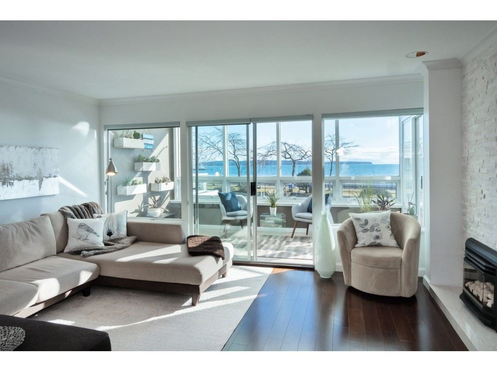 """Main Photo: 14843 MARINE Drive: White Rock Townhouse for sale in """"Marine Court"""" (South Surrey White Rock)  : MLS®# R2348568"""