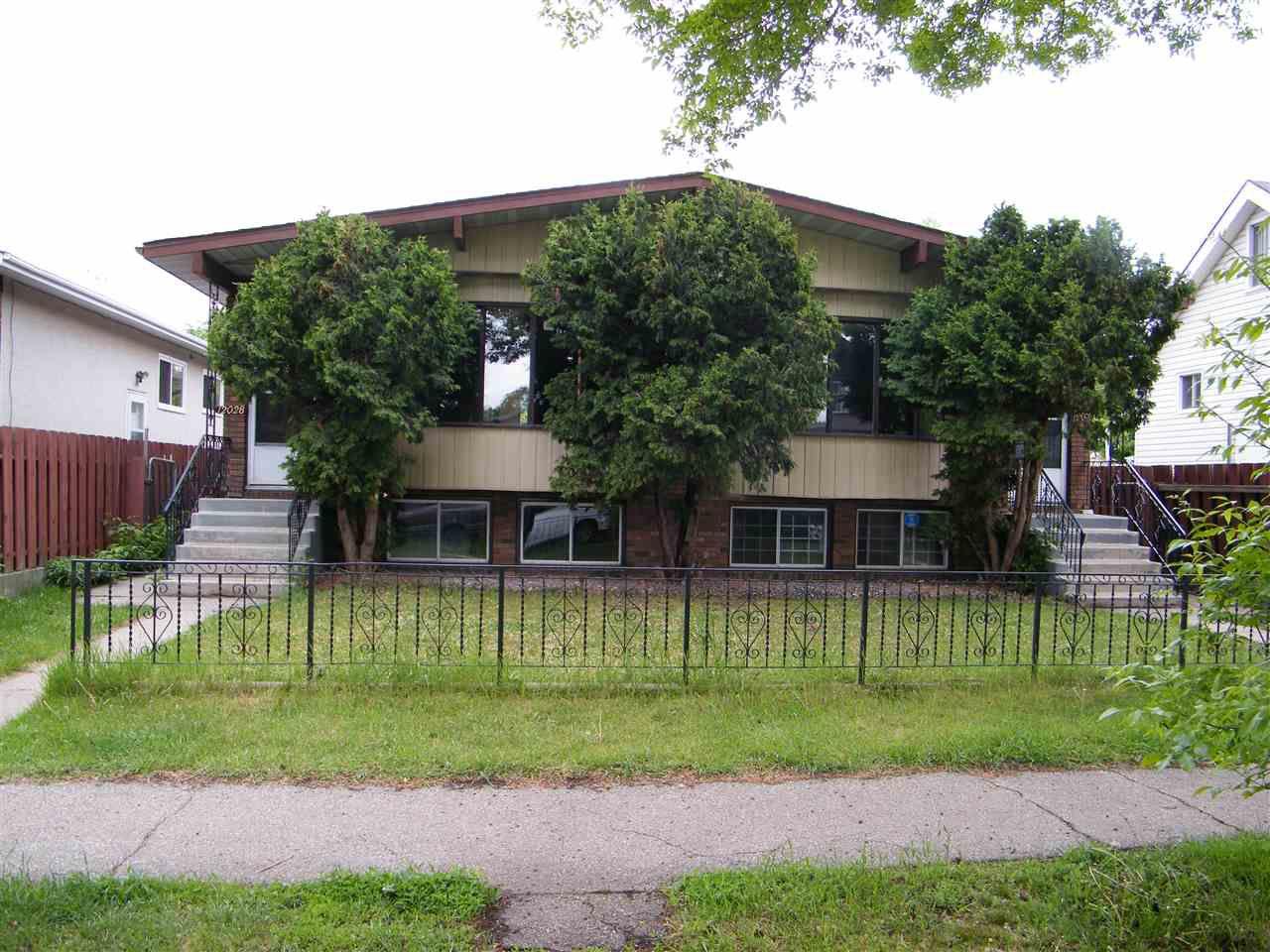 Main Photo: 12028 & 12030 88 Street in Edmonton: Zone 05 House Duplex for sale : MLS®# E4161310
