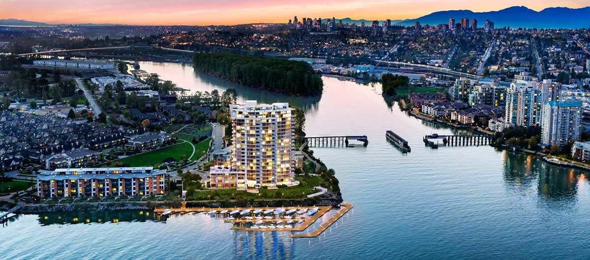 Main Photo: 1908 988 QUAYSIDE Drive in New Westminster: Downtown NW Condo for sale : MLS®# R2387683