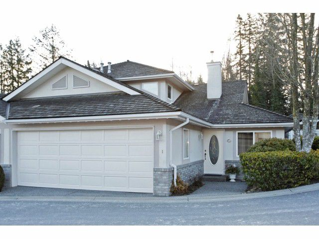 Main Photo: 1 15099 28 Avenue in surrey: south surrey Townhouse for sale (South Surrey White Rock)  : MLS®# f1402804