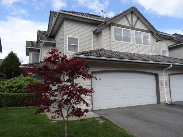 Main Photo: 27 758 Riverside Drive in Port Coquitlam: Townhouse for sale : MLS®# V1063122