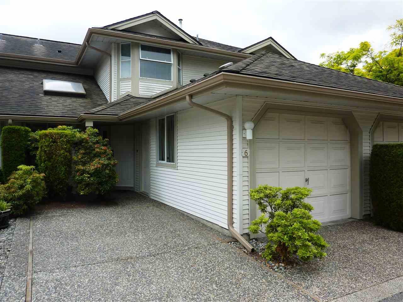 Main Photo: 6 9045 WALNUT GROVE DRIVE in Langley: Walnut Grove Townhouse for sale : MLS®# R2273288