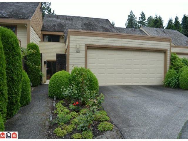 """Main Photo: 3731 NICO WYND Drive in Surrey: Elgin Chantrell Townhouse for sale in """"NICO WYND"""" (South Surrey White Rock)  : MLS®# F1301677"""