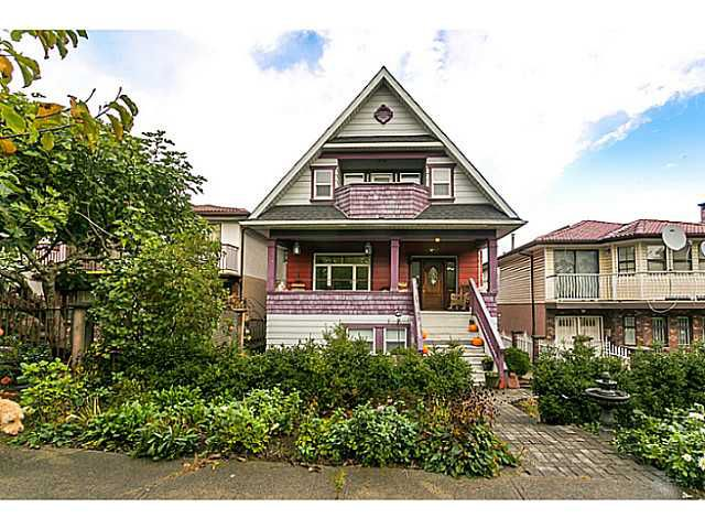Main Photo: 2541 E 4th Ave in Vancouver: Renfrew VE House for sale (Vancouver East)  : MLS®# V1090943
