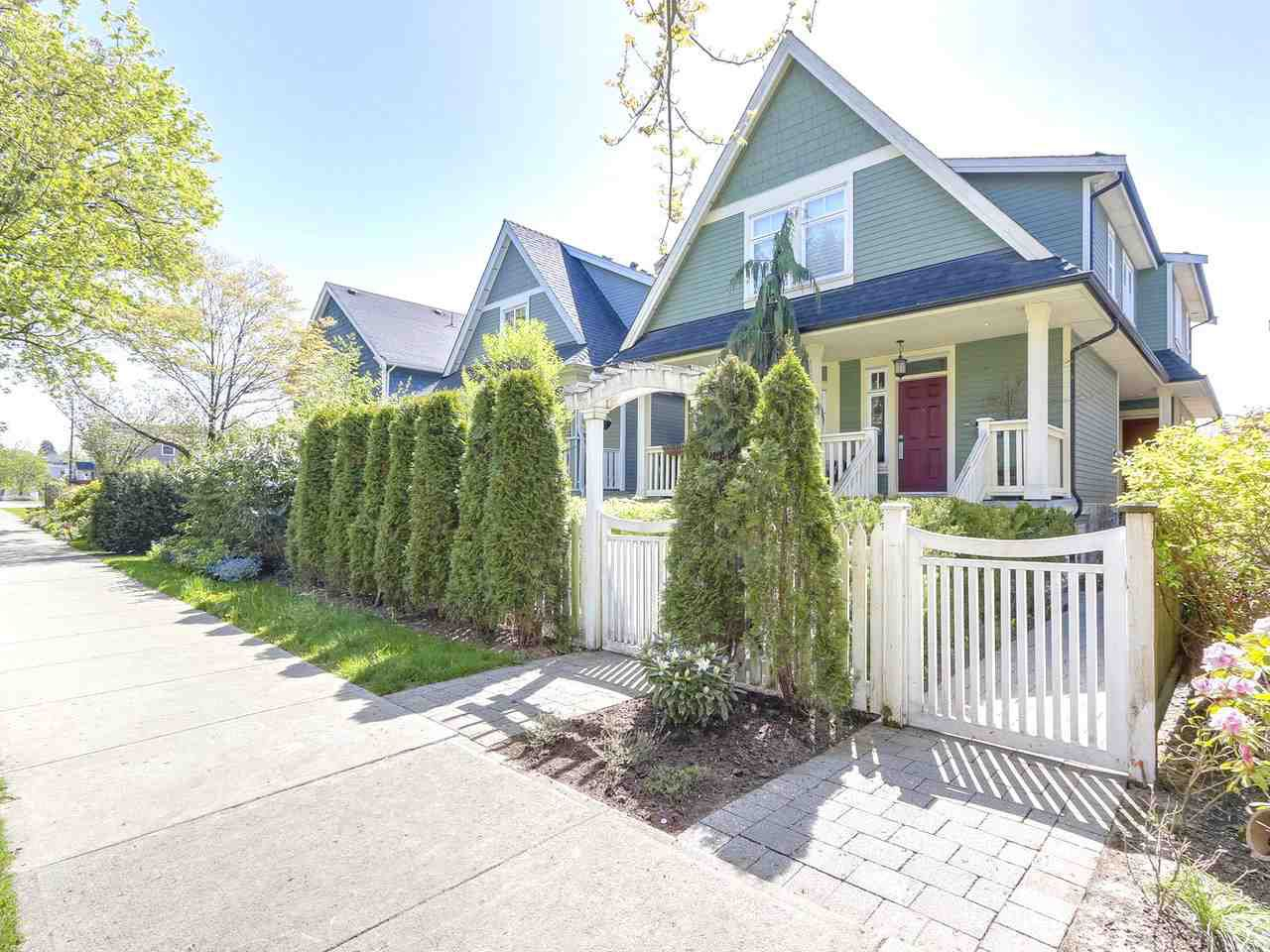 Main Photo: 1850 E 8TH AVENUE in Vancouver: Grandview VE House 1/2 Duplex for sale (Vancouver East)  : MLS®# R2276660