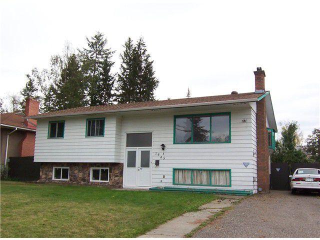 """Main Photo: 1445 VAN BIEN Avenue in Prince George: Fraserview House for sale in """"VAN BIEN"""" (PG City West (Zone 71))  : MLS®# N231080"""