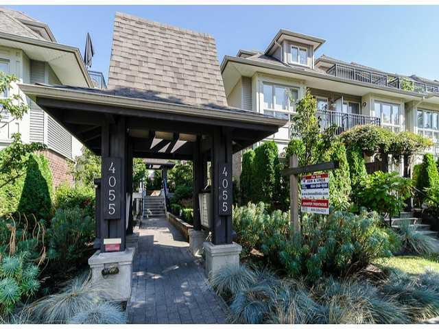 Main Photo: # 13 4055 PENDER ST in Burnaby: Willingdon Heights Condo for sale (Burnaby North)  : MLS®# V1075665