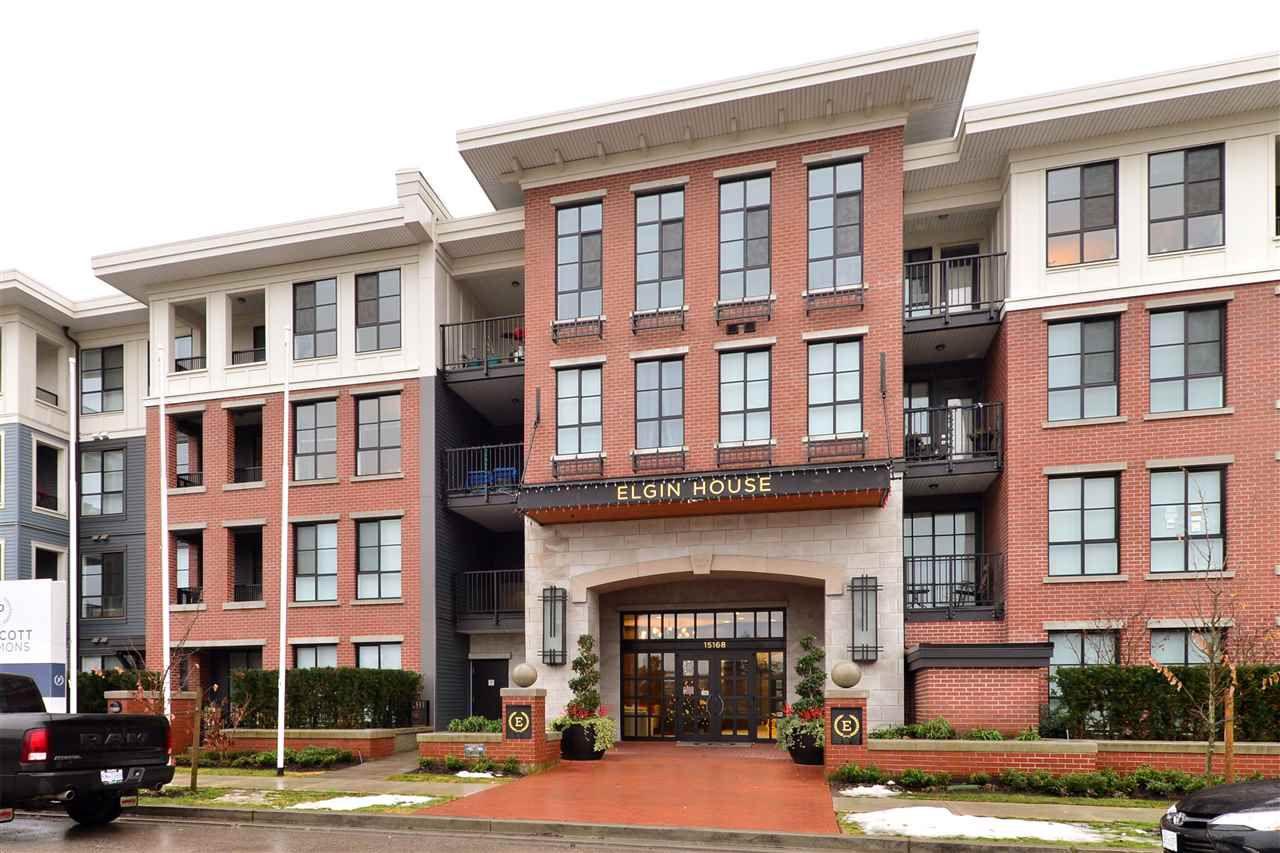 Main Photo: 413 15168 33 AVENUE in Surrey: Morgan Creek Condo for sale (South Surrey White Rock)  : MLS®# R2128450