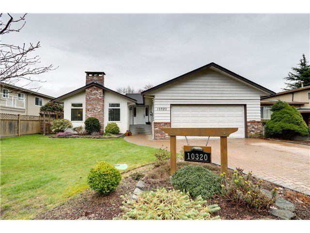 Main Photo: 10320 WHISTLER PL in Richmond: Woodwards House for sale : MLS®# V1110438