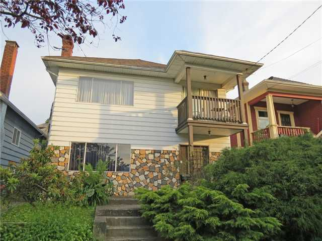 Main Photo: 1970 ADANAC Street in Vancouver: Hastings House for sale (Vancouver East)  : MLS®# V960127