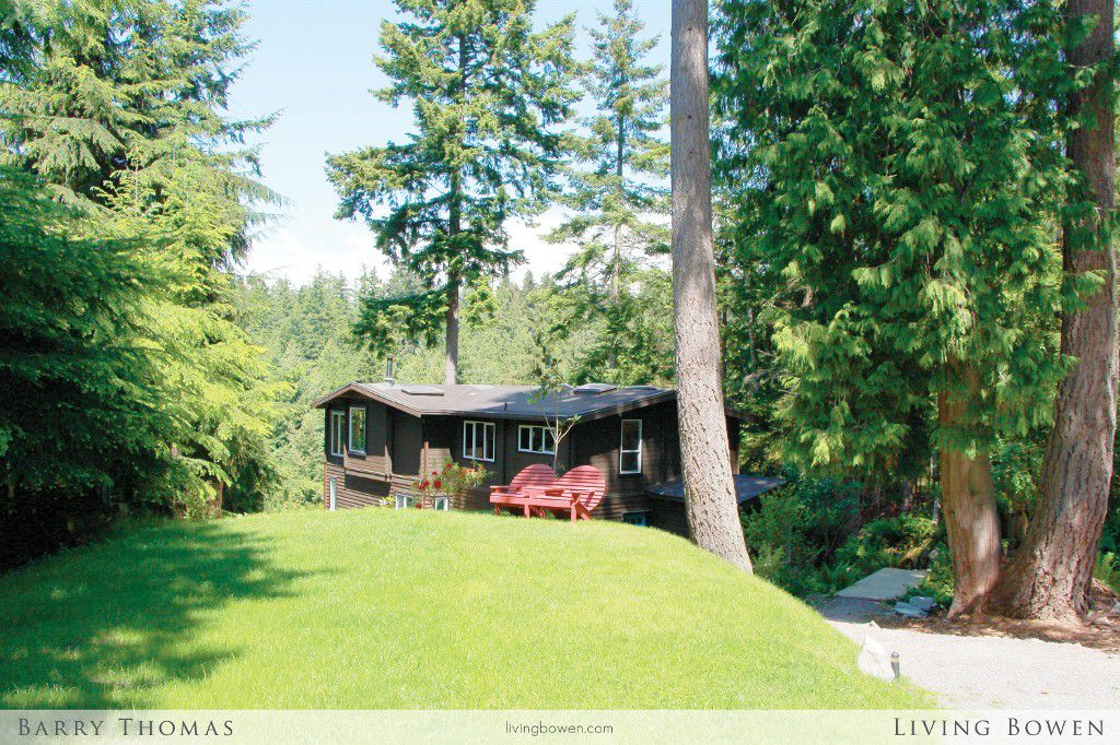Main Photo: 1608 Whitesails Drive in Bowen Island: Tunstall Bay House for sale : MLS®# V1069788