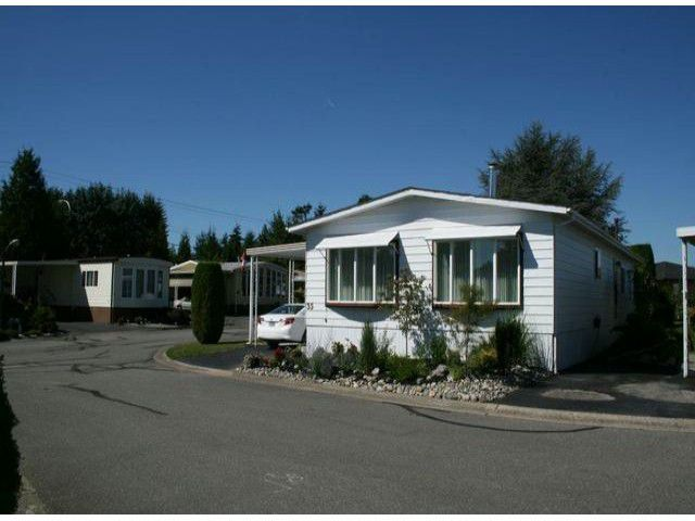 """Main Photo: 35 2120 KING GEORGE Boulevard in Surrey: King George Corridor Manufactured Home for sale in """"Five Oaks"""" (South Surrey White Rock)  : MLS®# F1421905"""