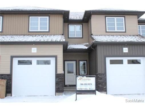 Main Photo: 122 DE MARCO POINTE LANE in Regina: Rosemont Condominium for sale (Regina Area 02)  : MLS®# 523977