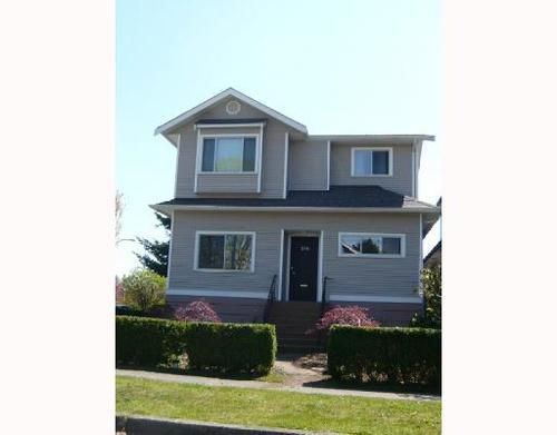 Main Photo: 396 39TH Ave in Vancouver East: Main Home for sale ()  : MLS®# V764906
