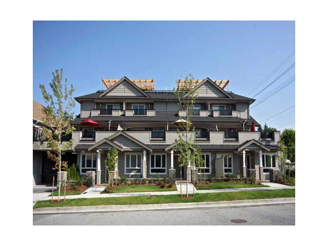 Main Photo: 1123 St Andrews Avenue in North Vancouver: Central Lonsdale Townhouse for sale : MLS®# V1113157