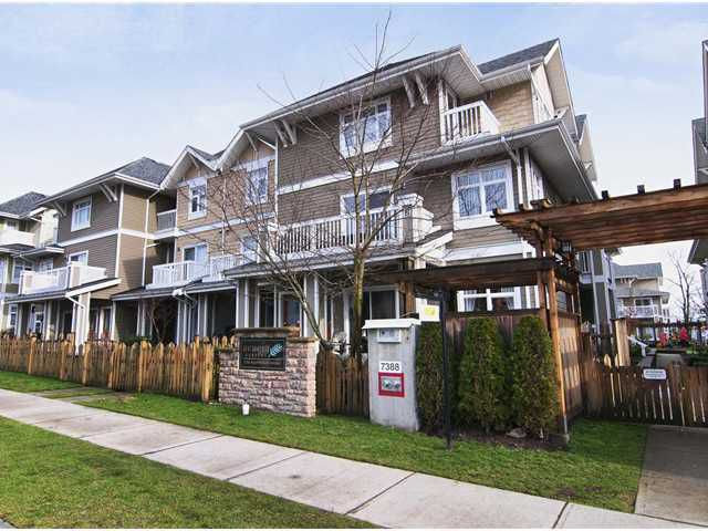 """Main Photo: 18 7388 MACPHERSON Avenue in Burnaby: Metrotown Townhouse for sale in """"Acadia Garden"""" (Burnaby South)  : MLS®# V944663"""