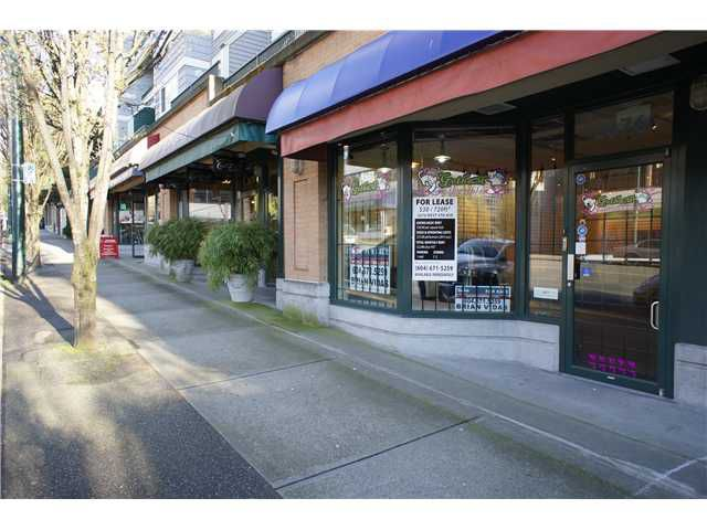 Main Photo: 2676 W 4TH Avenue in VANCOUVER: Kitsilano Commercial for sale (Vancouver West)  : MLS®# V4034835