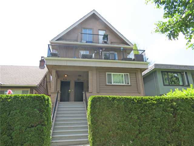 Main Photo: 824 - 828 E 11TH AV in Vancouver: Mount Pleasant VE House Duplex for sale (Vancouver East)  : MLS®# V1013637