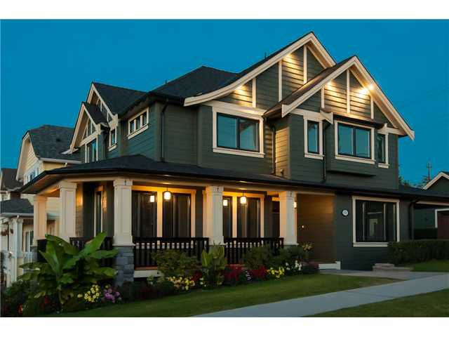 "Main Photo: 815 2ND ST in New Westminster: GlenBrooke North House for sale in ""GLENBROOKE NORTH"" : MLS®# V974369"