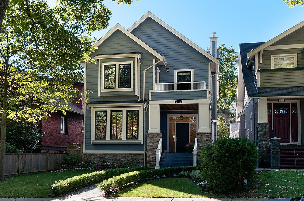 Main Photo: 3450 West 20th Ave (Dunbar) LIKE NEW - Built in 2009 by Odenza