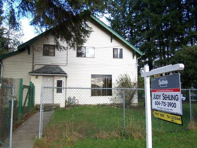 Main Photo: 32941 1ST Avenue in Mission: Mission BC House for sale : MLS®# F1300048
