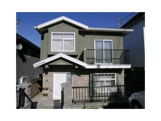 Main Photo: 5097 DOMINION Street in Burnaby: Central BN House 1/2 Duplex for sale (Burnaby North)  : MLS®# V930054
