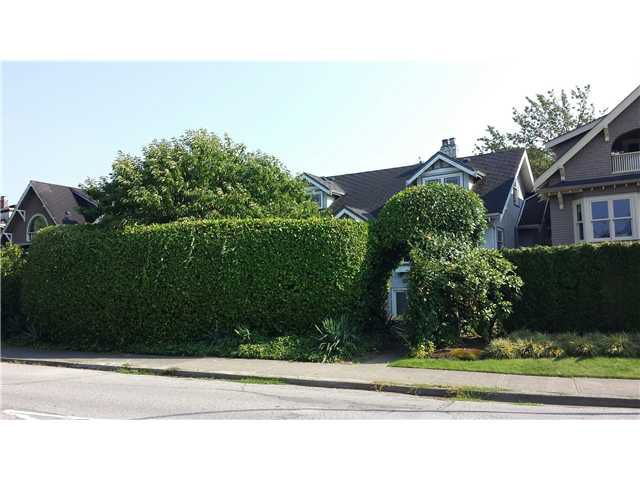 Main Photo: 3686 POINT GREY Road in Vancouver: Kitsilano House for sale (Vancouver West)  : MLS®# V1081193